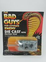 BAD GUYS SGT ROCK Die-Cast Tank MOC Sealed 1982 AHI Remco