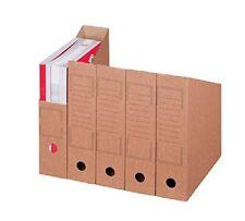 Smartboxpro Archiv-stehsammler DIN A4 braun