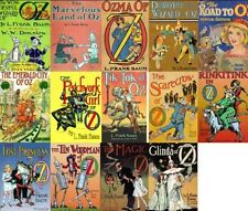 The Wizard of Oz Audio Books Complete Series MP 3 DVD  L Frank Baum Unabridged