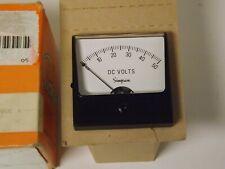 Simpson Analog Panel Meter Model 1227 Range 0 50 Dc V 09600