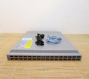 Cisco N9K-C93180LC-EX Nexus 9300 Up to 32p 40/50G OR 18p 100G N93-LAN1K9 1x PSU