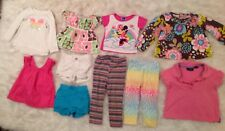 Girls 18-24 Months Spring Summer 10 Piece Mixed Clothing Lot The Childrens Place