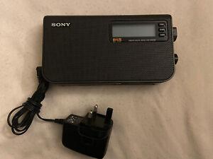SONY XDR-S55 DAB/FM digital radio in Original Box.