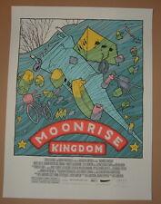 Jay Ryan Moonrise Kingdom Movie Poster Print Signed Numbered 2013 Mondo Art