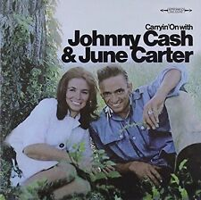 Johnny Cash & June Carter - Carryin' on With  SONY RECORDS CD 2002