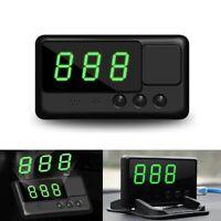 Universal Car GPS Speedometer HUD MPH and KM/h Overspeed Warning Plug & Play