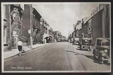 Real Photo Postcard Larne England Main Street Business Storefronts view 1930's