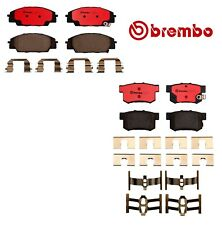 For Acura RSX Honda Civic S2000 Front and Rear Ceramic Brake Pads Set Kit Brembo