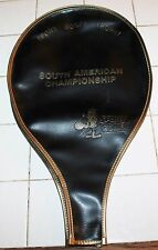 VINTAGE SPORT GOOFY TROPHY SOUTH AMERICAN CHAMPIONSHIP TENNIS RACKET COVER
