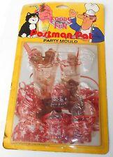 Vintage 1989 bbc ent-postman pat ~ party chocolat moules ~ sur carte