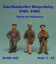 Hecker & Goros Zinnfiguren KSHG-257 American Civil War Confederate Navy