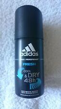 Déodorant COOL & DRY 48H senteur FRESH ADIDAS Spray de 35 ml Format VOYAGE NEUF