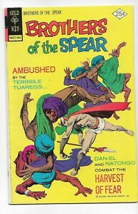 Brothers of the Spear #12 - Fine Plus - Gold Key - Harvest of Fear