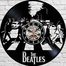 Abbey Road_BEATLES_Exclusive wall clock made of vinyl record_GIFT_DECOR