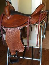 "TN Saddlery 18"" Gaited Western Saddle ""Lewisburg"""