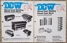 Diesel Cast Welding 1997 Catalogs Remanufactured Diesel Cylinder Headsblocks