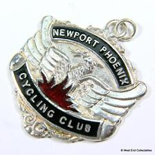 1962 Newport Phoenix Cycling Club Association Medal Fob in Box - Welsh Cycling