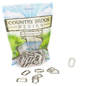 25 - Country Brook Design® 3/4 Inch Heavy Welded Rectangle Rings