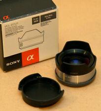 *MINT* SONY VCL-ECU1 - ULTRA WIDE CONVERTER - E MOUNT 16mm OR 20mm LENS - 12mm