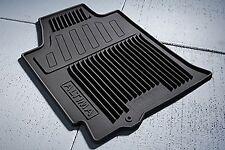 OEM NEW Front Rear All Weather Rubber Floor Mat 09-12 Altima Sedan 999E1UT010BK