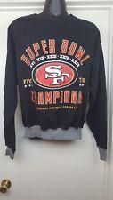 San Fransisco 49er's 5 Time Super Bowl Champion Sweatshirt Medium