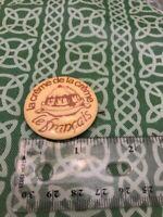 La Creme De La Creme Le Francis Food Pinback Button FREE SHIPPING
