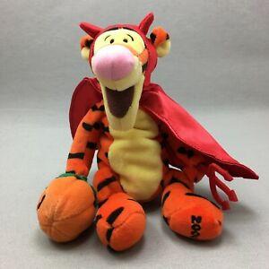 Tigger Plush Stuffed Animal Toy Walt Disney Devil Costume Winnie Pooh