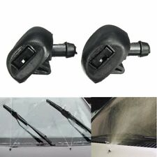 2x For Peugeot 407 Windscreen Window Wiper Washer Jets Jet Nozzles Black 6438Z1