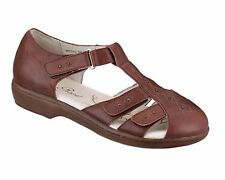 New Propet W0310 Women's Chestnut Heather Fisherman Sandals Sz US 8.5M