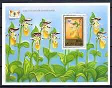 Fleurs - Orchidées Mongolie (145) bloc neuf** 1er choix