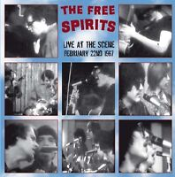 THE FREE SPIRITS - Live At The Scene. CD. New + sealed