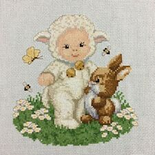 My Bunny Patch Needlepoint Cross Stitch Kit#2367 by Dimensions
