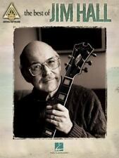 The Best of Jim Hall Songs Solos Licks Jazz Guitar Recorded Versions Tab Book