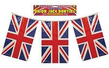 British Flag Bunting GB Olympic Royal Union Jack 11 Flags STREET PARTY 12 Feet