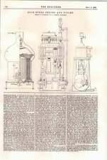 1898 Coulthard Compound High-speed Steam Engine