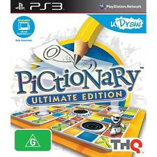 Pictionary Ultimate Edition - BRAND NEW & SEALED Sony PlayStation 3 PS3 AUS PAL