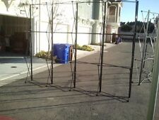 Reduced Brand New 10ft Pop Up Straightflat Trade Show Display Frame