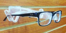 Slatwall Open Eyeglass Sunglass Holder - Fits Pegboard - Clear - 25 Pieces