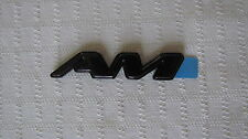 "NEW OEM Purple Pontiac Grand ""AM"" Nameplate Emblem Badge 22647219"
