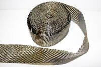 5M Titanium Exhaust Heat Wrap and Ties For Vauxhall Astra Corsa Insignia Vectra