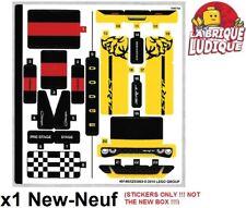 Lego 1x Sticker Autocollant Speed Champions 75893 Dodge SRT demon charger NEUF
