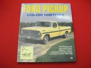MOTORBOOKS INTERNATIONAL FORD PICKUP COLOR HISTORY 1905-1994 EXCELLENT CONDITION
