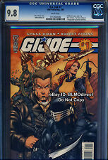 CGC 9.8 G. I. Joe #1 Robert Atkins First Print Edition GI Joe Movie