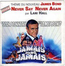 BOF JAMAIS PLUS JAMAIS NEVER SAY NEVER AGAIN LANI HALL MICHEL LEGRAND FRENCH 45