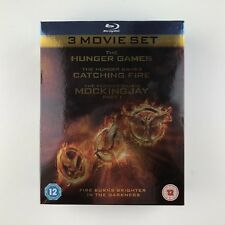 The Hunger Games: 3 Movie Set (Blu-ray, 2014)
