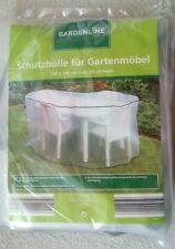 SCHUTZHÜLLE FÜR GARTENMÖBEL - Transparent - 230 x 160 cm oval , 90 cm hoch - NEU
