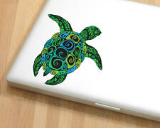 Sea Turtle Vinyl Laptop or Automotive Art sticker decal computer auto netbook