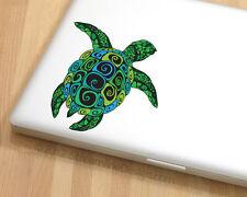 Sea Turtle Vinyl Laptop or Automotive Art sticker decal computer auto netbook