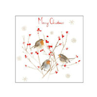 Three Little Robins Christmas Cards 10 pk - Sold in Aid of the RAF Association