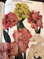 1961 Mid Century Plants Flowers Perennial Shrubs Roses WAYSIDE GARDENS Catalog